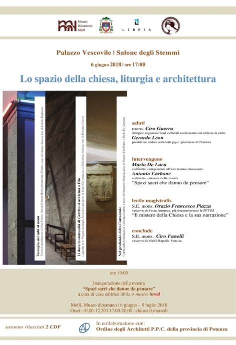 Lo spazio della chiesa, liturgia e architettura_Locandina_ridotto