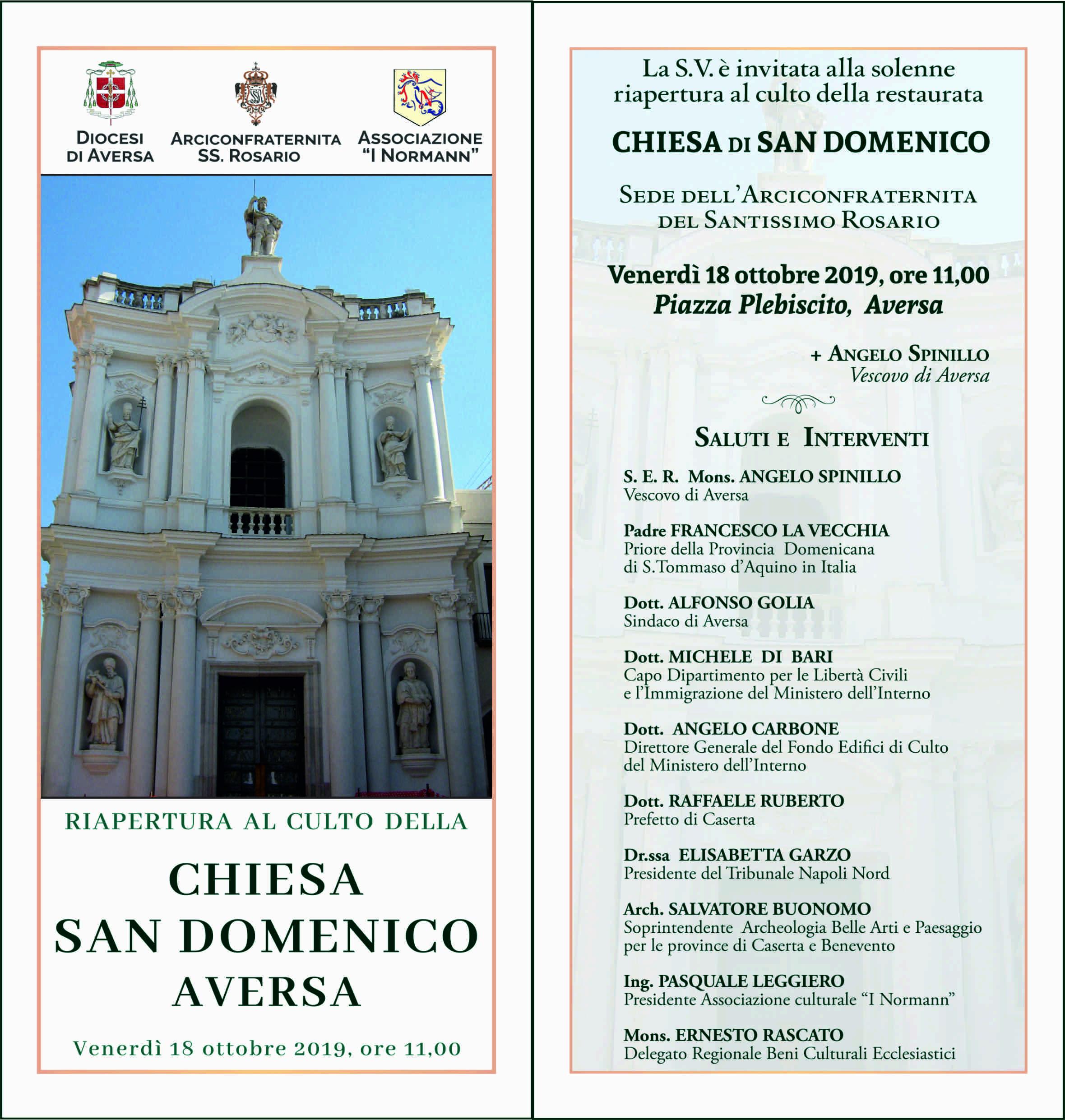 Invito riapertura S.Domenico